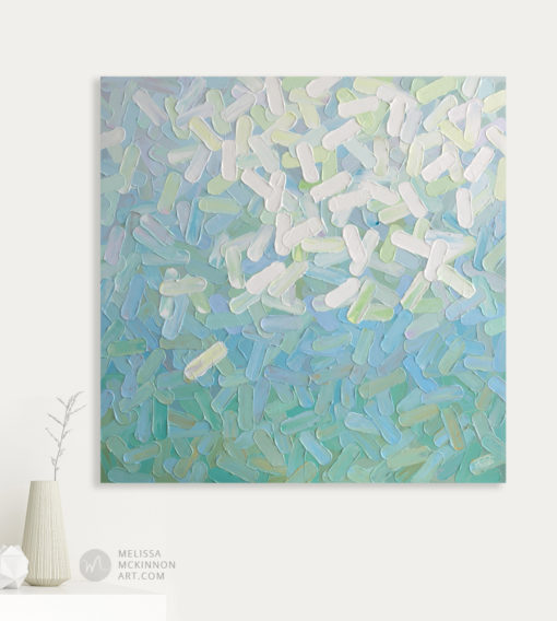 Abstract Paintings and fine art prints of white aqua and turquoise abstract art by Modern Abstract Artist Melissa McKinnon 'Daydream', Abstract art, abstract painting, original abstract art, original abstract painting, abstract art print, abstract artist, palette knife paintings, turquoise painting , white painting, aqua painting, abstract flower painting, abstract floral painting, abstract flower art, abstract floral art, colourful art, colourful painting, colourful prints on canvas, colourful art pictures, painting with bright colours, impasto painting, colorful paintings, contemporary abstract art, abstract expressionism painting, landscape paintings, landscapes, landscape art, acrylic paintings, oil paintings, paintings with texture, nature painting, scenery painting, art print, prints on canvas, giclee prints, abstract art, contemporary art, modern art, abstract painting, modern paintings, art gallery, art galleries, online art gallery, art for sale, paintings for sale, wall painting, wall art, wall decor, home decor, living room painting, abstract landscape painting, abstract landscape, landscape artist, American art, american artist, Canadian art, colourful art, living room art, bedroom decor, bedroom painting, kitchen decor, kitchen painting, kitchen art, bedroom art, fine art, painting, picture art, original art, original paintings, large paintings, Canadian paintings, American paintings, interiors, interior decorating, interior design, interior designer, home decor ideas, interior design ideas, living room ideas, home interior design, house decoration, Melissa McKinnon art, Melissa McKinnon paintings,