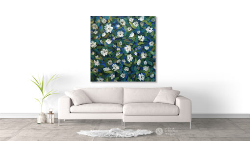 Abstract floral painting of white flowers by Canadian botanical artist painter Melissa McKinnon Spring Fling, flower painting; paintings of flowers, paintings of white flowers, abstract flower painting; abstract floral painting; oil painting of flowers, acrylic painting of flowers, paintings of white flowers, flower art; floral painting; botanical painting; botanical art; floral art; flower arrangement; paintings of flower bouquet; floral bouquet; white poppies; painting of field of flowers, white rose painting; painting of wildflowers, landscape painting; landscape art; landscape artists; abstract landscape painting; abstract landscape; scenery paintings; paintings of nature; nature paintings; nature art; landscape oil paintings; landscape acrylic paintings; original art; original paintings; oil paintings; acrylic paintings; paintings gallery; canvas painting; beautiful landscape paintings; western art;  western paintings; modern artist paintings; art gallery; Contemporary Artist;  contemporary painting;  original art; original paintings; oil paintings; oil paintings for sale; acrylic paintings;  paintings with texture; impasto painting;  Canadian artist; Canadian art; Canadian paintings; American artist; American artist; American paintings;  large paintings; big paintings; large canvas paintings; large wall paintings; contemporary landscape painting; Contemporary painting; colourful painting; paintings for sale; canvas wall art; wall art canvas; canvas art; wall art decor; bedroom wall decor; bathroom wall decor; living room wall decor; kitchen wall decor; interiors; interior decorating; interior design; interior designer; home decor ideas; interior design ideas; living room ideas; home interior design; house decoration; Melissa McKinnon art; Melissa McKinnon paintings; Melissa McKinnon art.