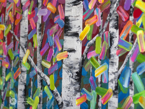 Contemporary Abstract painting of aspen trees and birch tree art by contemporary abstract nature artist painter Melissa McKinnon With Wild Abandon, tree paintings, landscape paintings, birch trees, aspen trees, treescape, tree paintings on canvas, birch tree art, tree of life painting, birch tree canvas, aspen tree paintings, tree art, aspens, birches, art print, prints on canvas, giclee prints, acrylic paintings, oil paintings, paintings with texture, tree of life, nature painting, scenery painting, abstract art, contemporary art, modern art, abstract painting, modern paintings, art gallery, art galleries, online art gallery, art for sale, paintings for sale, wall painting, wall art, wall decor, home decor, living room painting, abstract landscape painting, abstract landscape, landscape artist, forest paintings, birch tree painting, forest paintings, fall painting, autumn painting, American art, american artist, Canadian art, colourful art, living room art, bedroom decor, bedroom painting, kitchen decor, kitchen painting, kitchen art, bedroom art, fine art, painting, picture art, original art, original paintings, large paintings, Canadian paintings, American paintings, interiors, interior decorating, interior design, interior designer, home decor ideas, interior design ideas, living room ideas, home interior design, house decoration, Melissa McKinnon art, Melissa McKinnon paintings,