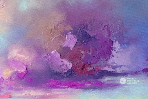 Fine Art Giclée Print of purple sunset sky mountains and lake landscape painting by abstract landscape artist Melissa McKinnon 'Blushing Sky', Art print, giclee print, limited edition prints, open edition prints, art reproduction, art print on canvas, print on canvas, landscape art prints, art print of sunset sky, purple painting, landscape paintings, landscapes, landscape art, acrylic paintings, oil paintings, paintings with texture, nature painting, scenery painting, art print, prints on canvas, giclee prints, abstract art, contemporary art, modern art, abstract painting, modern paintings, art gallery, art galleries, online art gallery, art for sale, paintings for sale, wall painting, wall art, wall decor, home decor, living room painting, abstract landscape painting, abstract landscape, landscape artist, American art, american artist, Canadian art, colourful art, living room art, bedroom decor, bedroom painting, kitchen decor, kitchen painting, kitchen art, bedroom art, fine art, painting, picture art, original art, original paintings, large paintings, Canadian paintings, American paintings, interiors, interior decorating, interior design, interior designer, home decor ideas, interior design ideas, living room ideas, home interior design, house decoration, Melissa McKinnon art, Melissa McKinnon paintings,