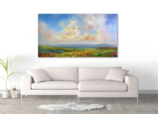 Landscape Painting Fine Art Giclee Print of cloudy sunset sky mountains prairie wildflower field by landscape artist Melissa McKinnon 'Head In The Clouds', fine art, sea, seascape,Seascape paintings, ocean,ocean art, beach, beaches, beach art, Ocean paintings, beach paintings, sky paintings, paintings of clouds, sunset paintings, sunrise paintings, sky, clouds, sunset, sunrise, art, paintings, Contemporary Art, Landscape Painting, Wall art, interior design, design inspiration, home decor, interior designer, paintings for sale, Decor, Interior design ideas, interior design inspiration, Calgary interior designer, interior design Calgary, Home, design, decor inspiration, interior styling, modern home, style, interiors, modern decor, home inspiration, interior decorating, Art In The Home, art, wall art, wall decor, modern art,Calgary artist, Canadian artist, Alberta Landscape Painter, Contemporary Alberta Artist, Alberta Landscape Painting, Calgary paintings, Birch Tree Painting, Birch Tree Paintings, Aspen Tree Painting, Aspen Tree Paintings, Calgary Fine Art, Calgary, Alberta, Canada, Canadian Rocky Mountains, Banff, Canmore, Lake Louise, sky, prairies, mountain, mountains, lake, river, water, ocean, beach, playa, clouds, leaves, flowers, floral, abstract, Canada, Rockies, Art collector, artist to collect, original paintings, landscape paintings, oil paintings, acrylic paintings,tree paintings,paintings of trees, abstract paintings, abstract, modern, contemporary, fine art, art, art gallery,contemporary landscape painting, contemporary landscape artist, contemporary art, contemporary painting, aspen artist, Melissa Mckinnon, Aspen paintings, Aspen tree art, Aspen tree artist, Autumn Aspens, Autumn birches, Aspens, Autumn leaves, Birches, Big paintings, large paintings, impasto, thick paint, paintings with texture, palette knife, birch art, birch paintings, landscape painting commission, Painting Commission, Commission artist painter, custom painting, Aspen fine art, red art painting, aqua art painting, teal art painting, turquoise art painting, yellow art painting, green art painting, black and white art painting, f
