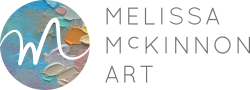 Melissa McKinnon Art Logo Contemporary Landscape Paintings and Giclée Prints