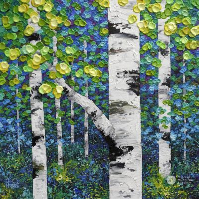 Abstract tree landscape nature painting of aspen trees and birch trees giclee art print on canvas by contemporary abstract landscape artist painter Melissa McKinnon 'The Forest Through the Trees', tree paintings, tree art,landscape paintings,tree paintings on canvas,nature art, scenery painting,birch tree art, tree of life painting,birch tree canvas, aspen tree paintings,birch treepaintings, nature paintings, tree art, art prints of trees, art prints of nature, giclee print on canvas,abstract landscape painting,birch trees, aspen trees,treescape,aspen tree art, aspens, birches, art print, prints on canvas, giclee prints,acrylic paintings, oilpaintings, paintings with texture, tree of life,abstractlandscape, landscape artist, forest paintings,birch tree painting, forest paintings,fall painting, autumn painting, abstract art, contemporary art, modern art, abstractpainting,modern paintings, art gallery, art galleries, online art gallery, art for sale, paintings for sale, wall painting, wall art, wall decor, home decor, living room painting,American art, american artist, Canadian art,colourful art, living room art, bedroom decor, bedroom painting, kitchen decor, kitchen painting, kitchen art, bedroom art, fine art, painting, picture art,original art, original paintings, large paintings,Canadian paintings, American paintings,interiors, interior decorating, interior design, interior designer, home decor ideas, interior design ideas, living room ideas, home interior design, house decoration, Melissa McKinnon art, Melissa McKinnon paintings,